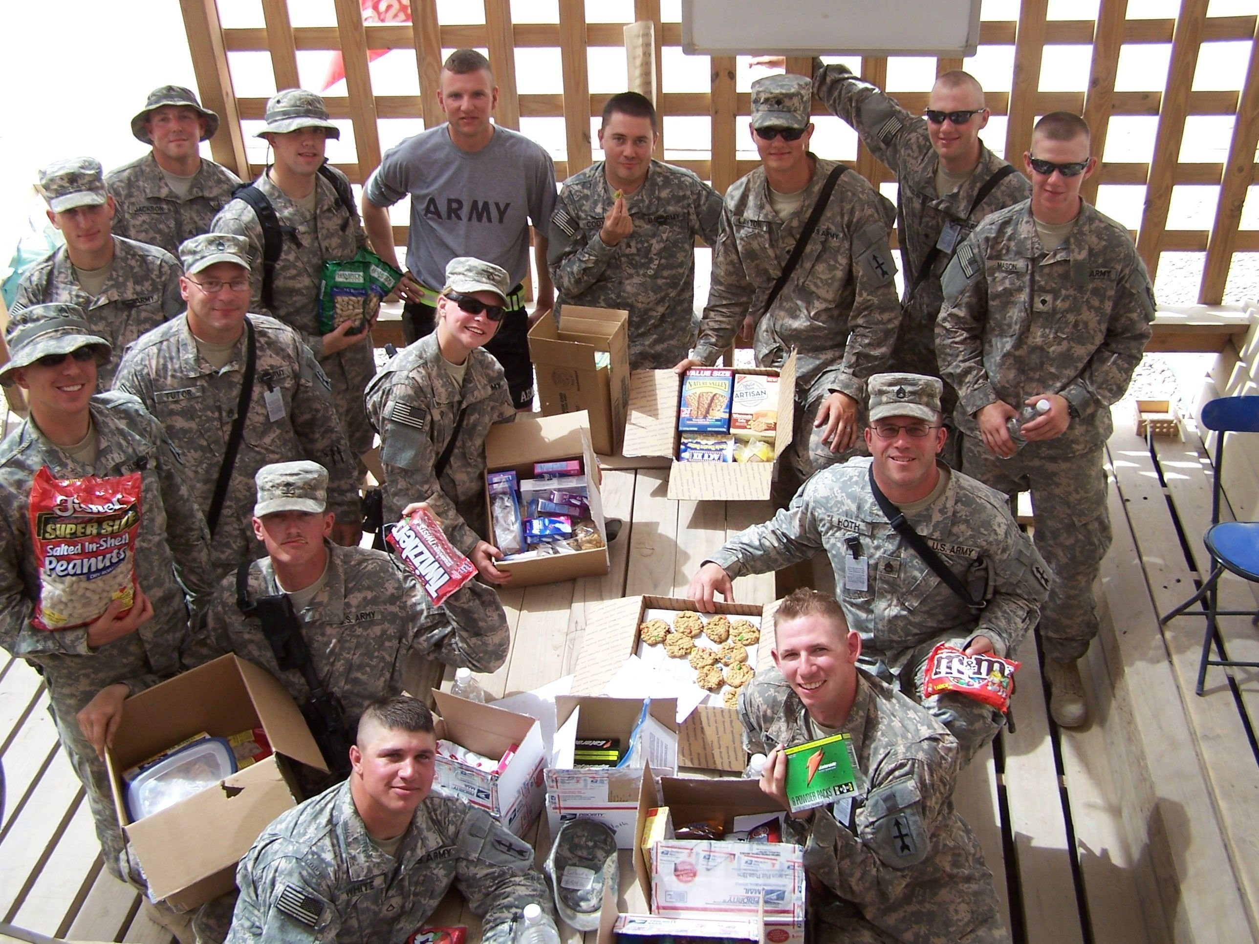 10 Spectacular Care Package Ideas For Deployed Soldiers care packages for u s military united states military pinterest 2021
