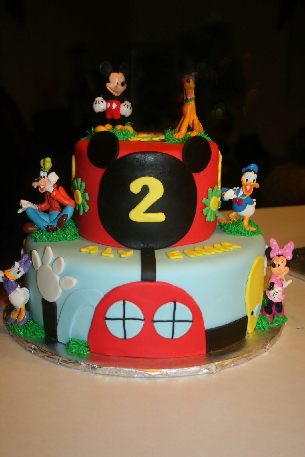 10 Most Popular Mickey Mouse Birthday Cake Ideas carlys cakes mickey mouse clubhouse this one is cute too cake 2020