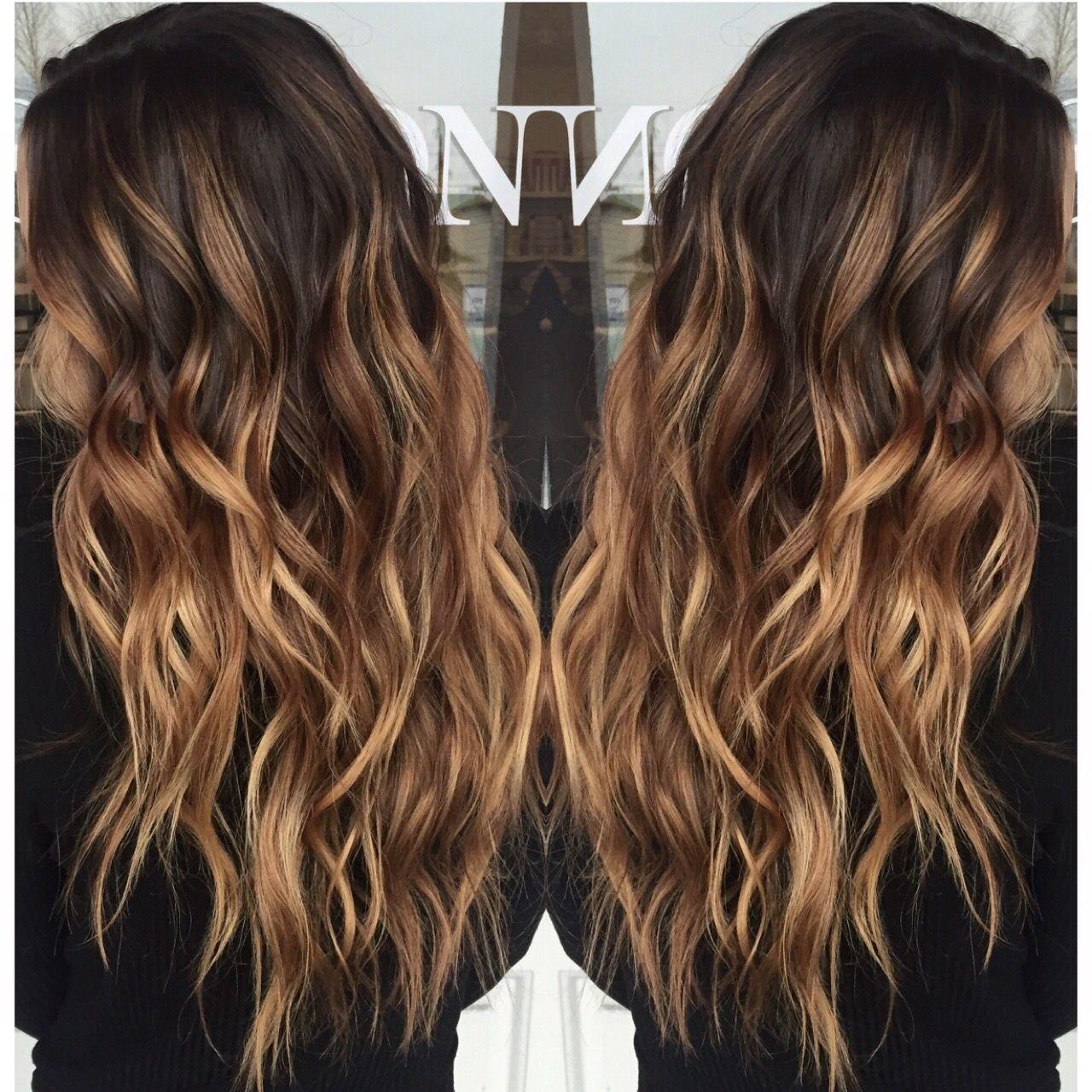 10 Stunning Hair Highlight Ideas For Brown Hair carmel balayage pinteres