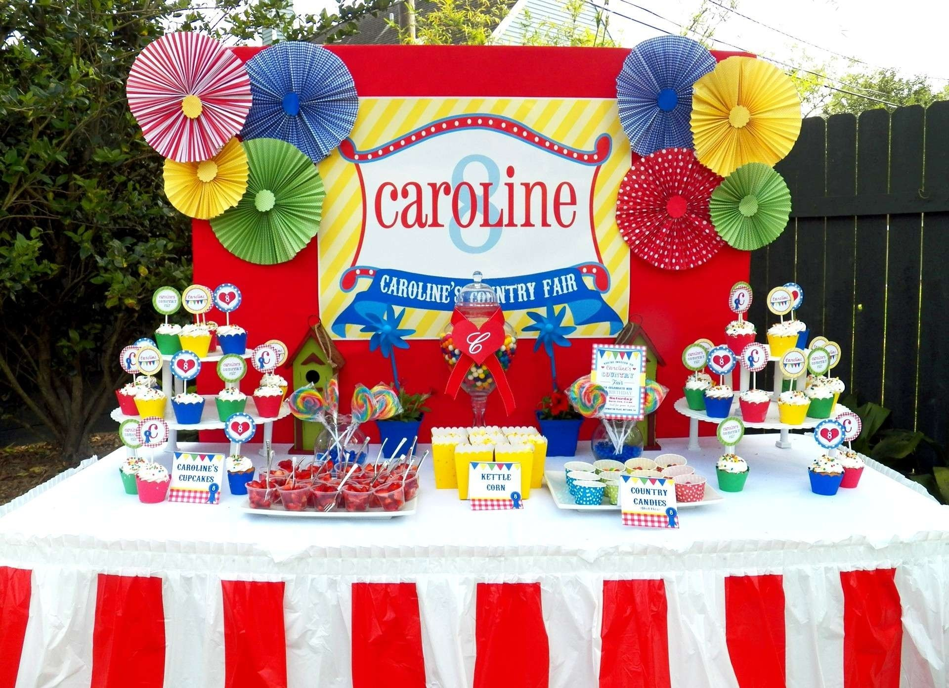 10 Attractive Carnival Theme Birthday Party Ideas Decorations Unique Country Fair And