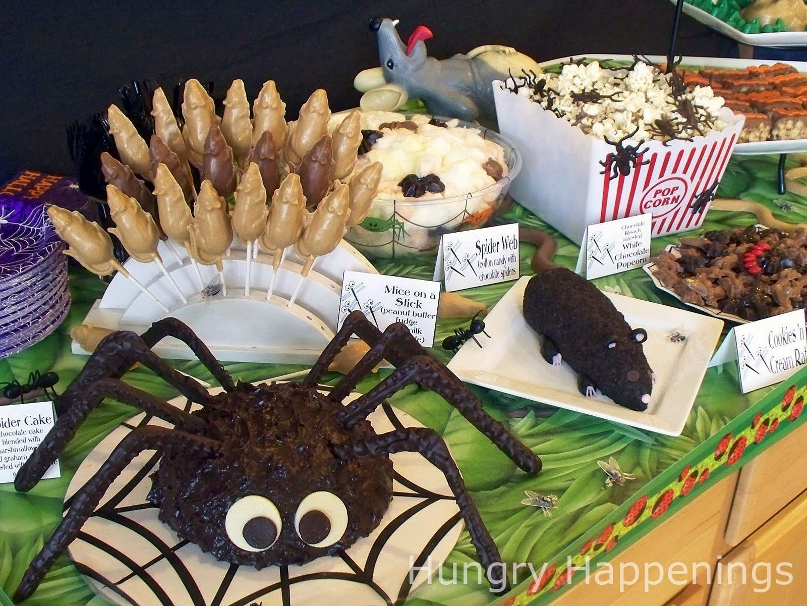 10 Great Halloween Food Ideas For Party carnival of the creepy crawlers halloween party theme 2