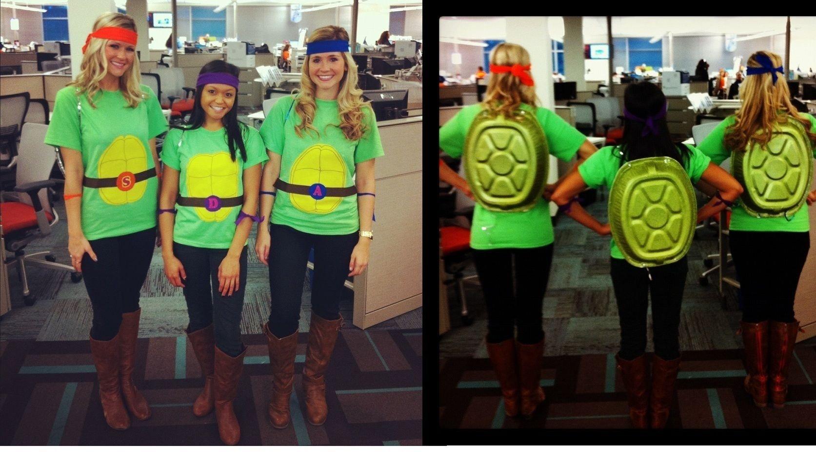 10 Unique Teenage Mutant Ninja Turtles Costume Ideas carter i are being ninja turtles this year diy ninja turtles 2021