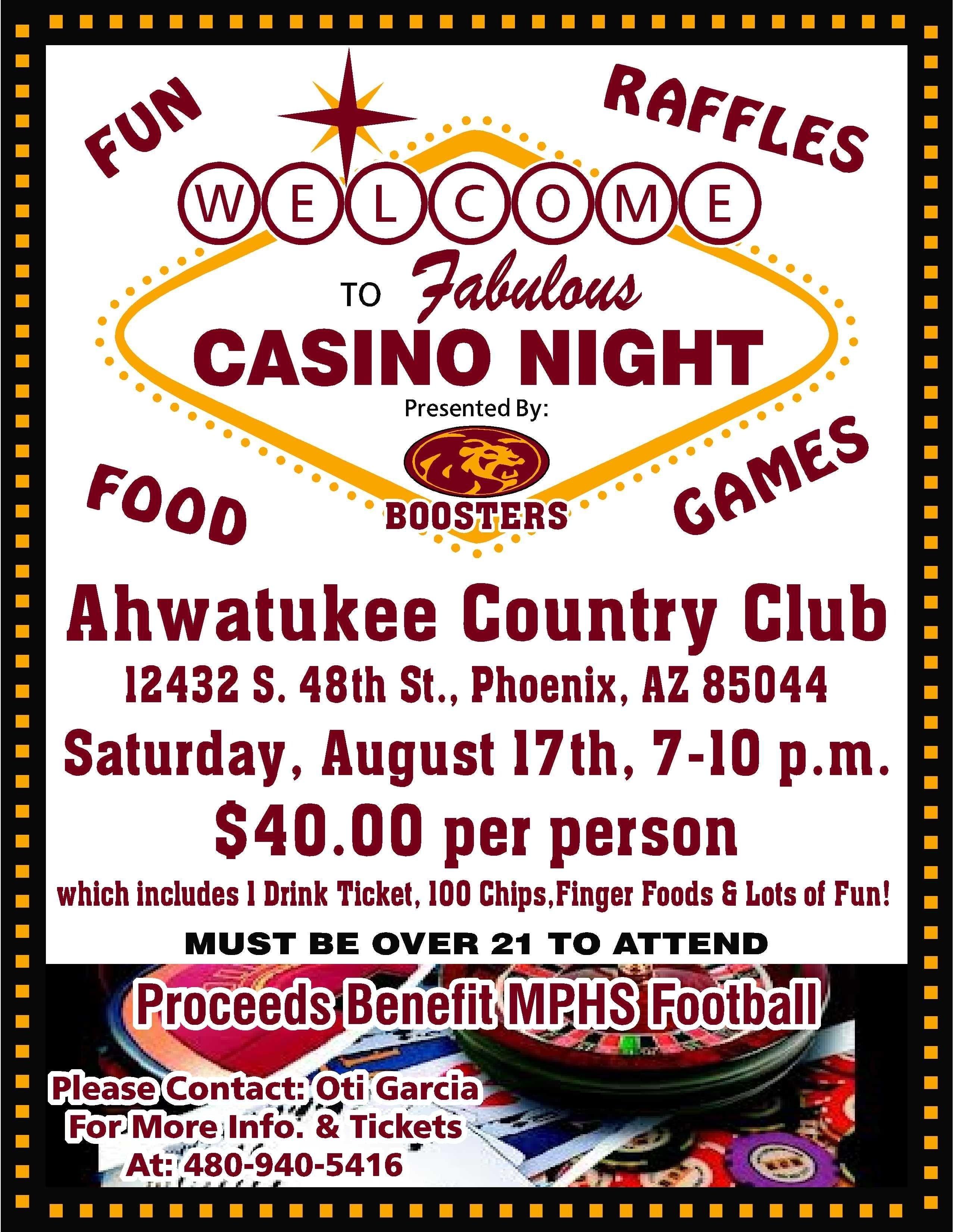 10 Fantastic High School Club Fundraising Ideas casino night flyer 1 2554x3300 casino night fundraiser ideas 2021