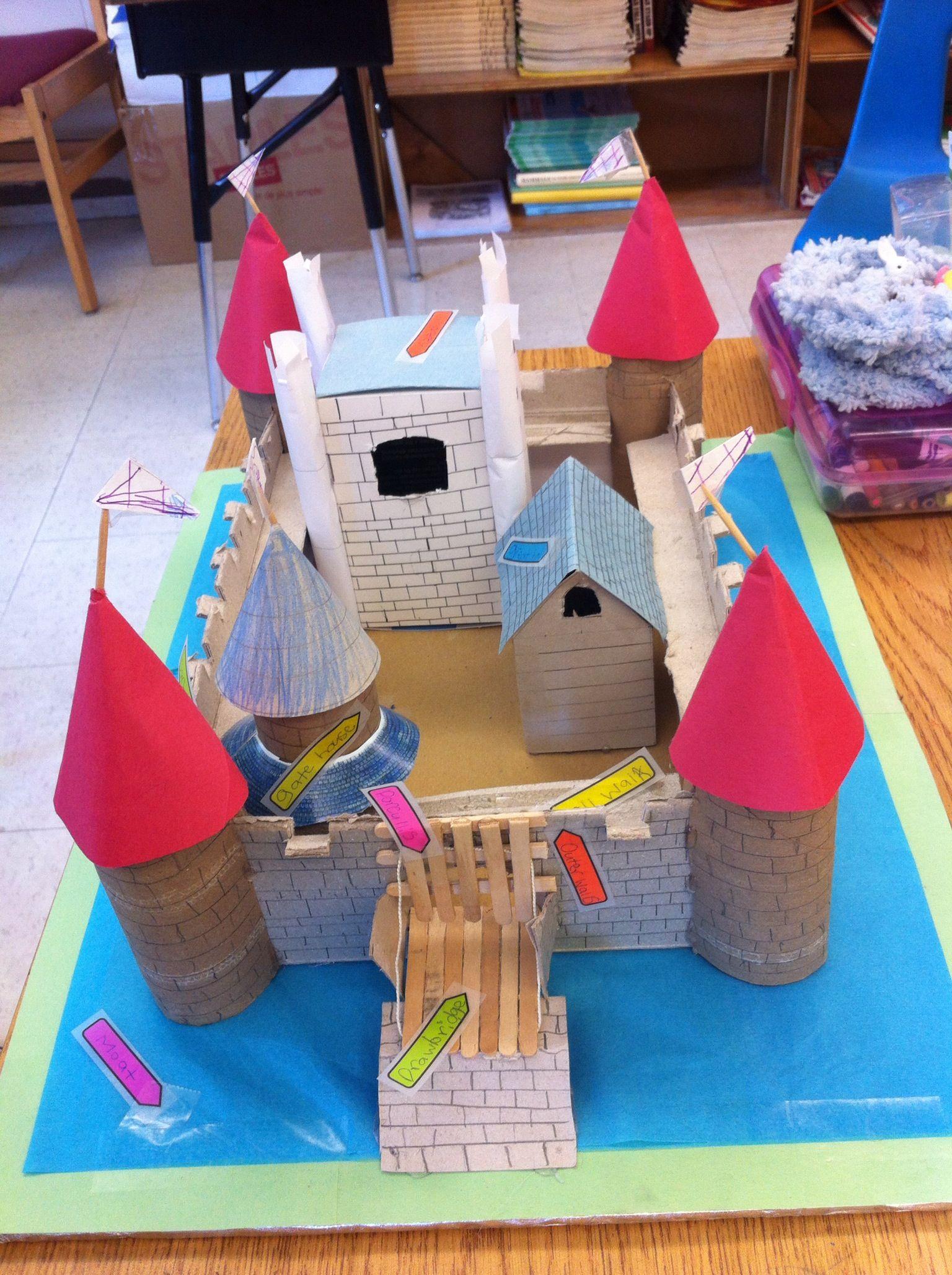 10 Cute School Project Ideas For Kids castle project school project kids castle castle project