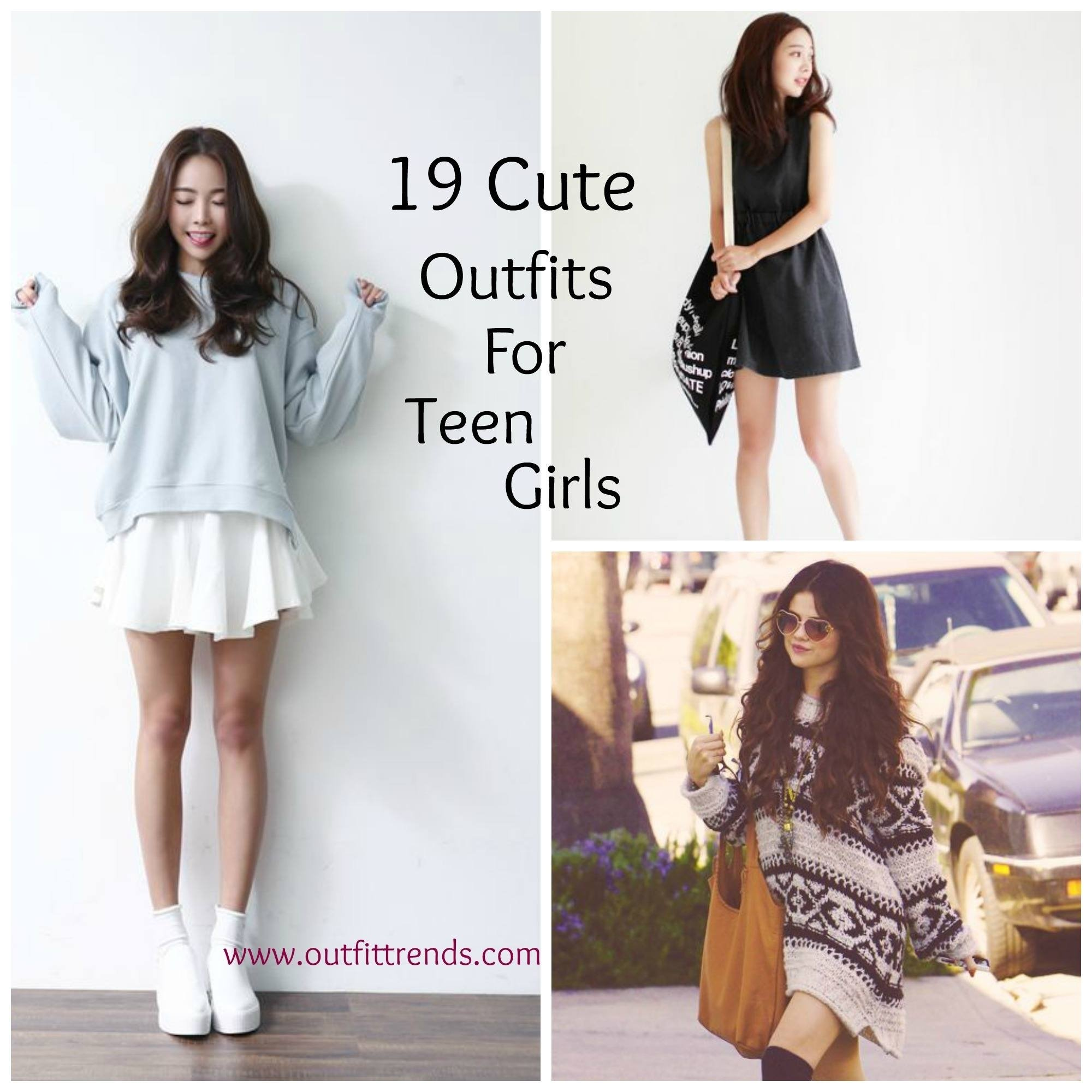 10 Awesome Outfit Ideas For Teenage Girls casual outfits for teen girls 19 cute dresses for casual look