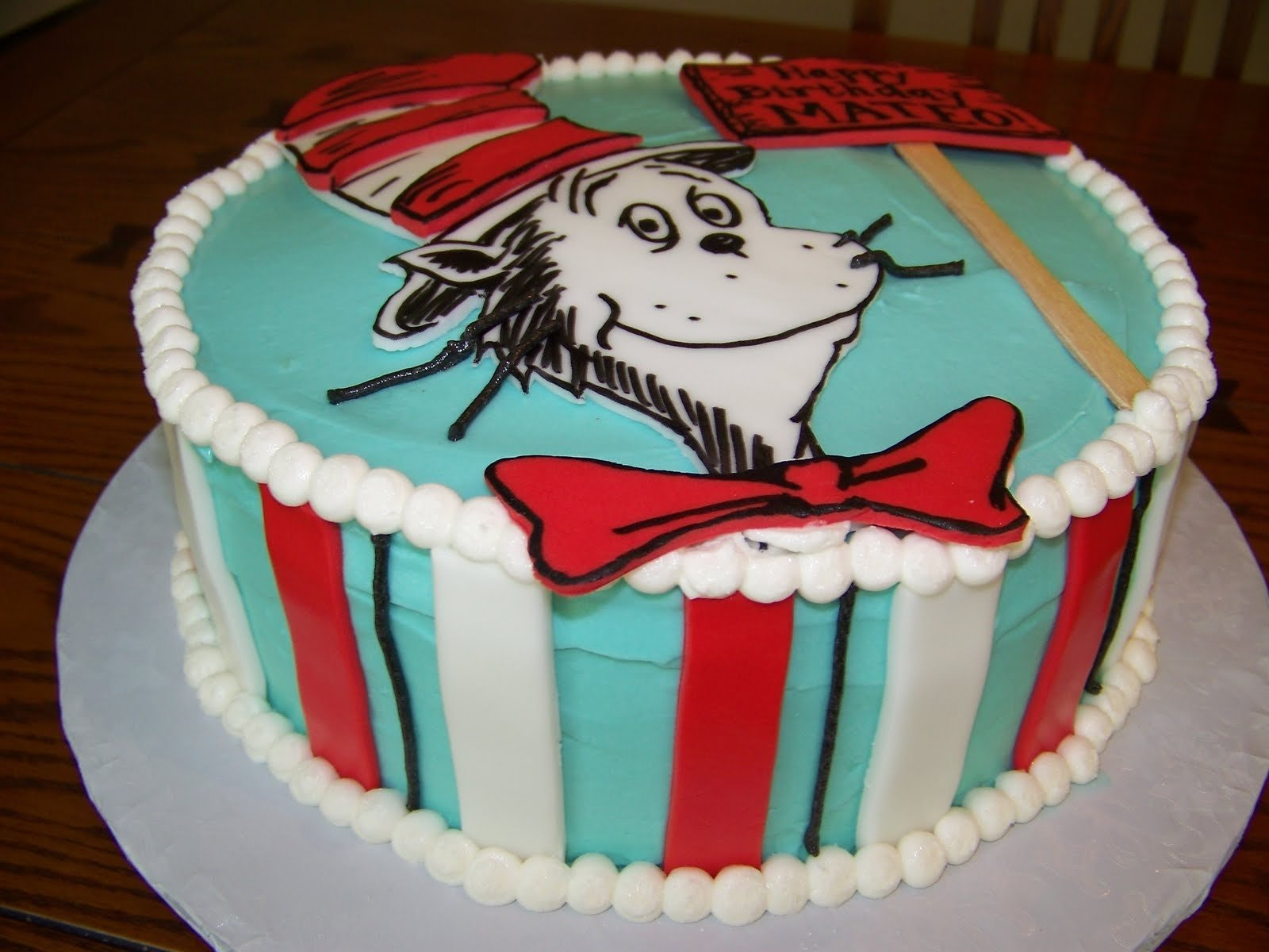 10 Attractive Cat In The Hat Cake Ideas cat in the hat birthday cakes plumeria cake studio dr seuss cat