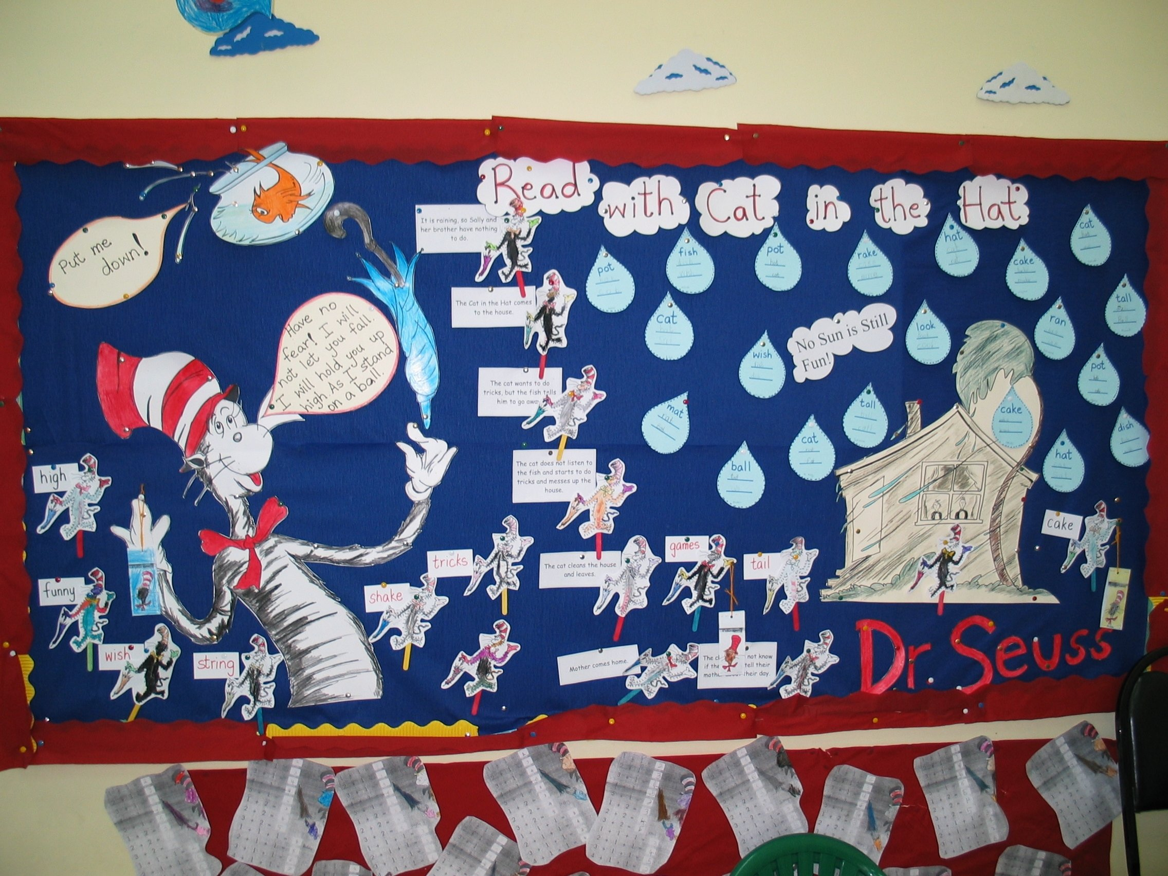 10 Stylish January Bulletin Board Ideas For Teachers cat in the hat bulletin board dr seuss what a teacher 2021