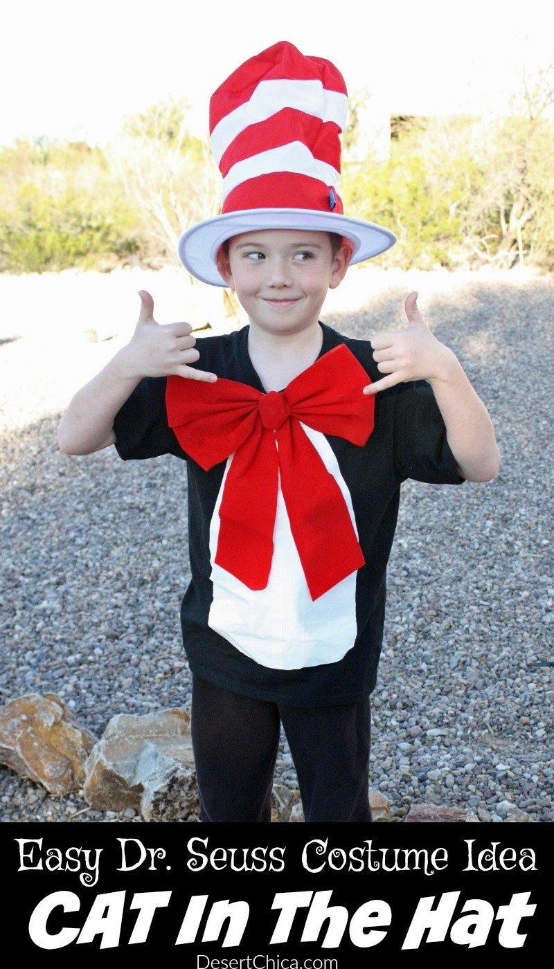10 Lovable Cat In The Hat Costume Ideas cat in the hat costume desert chica 1