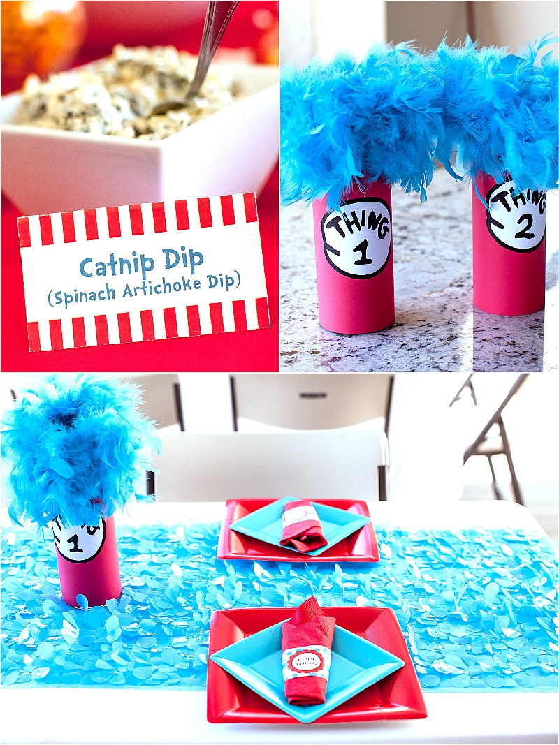10 Beautiful Cat In The Hat Birthday Party Ideas cat in the hat inspired 3rd birthday party food game diy 1 2020
