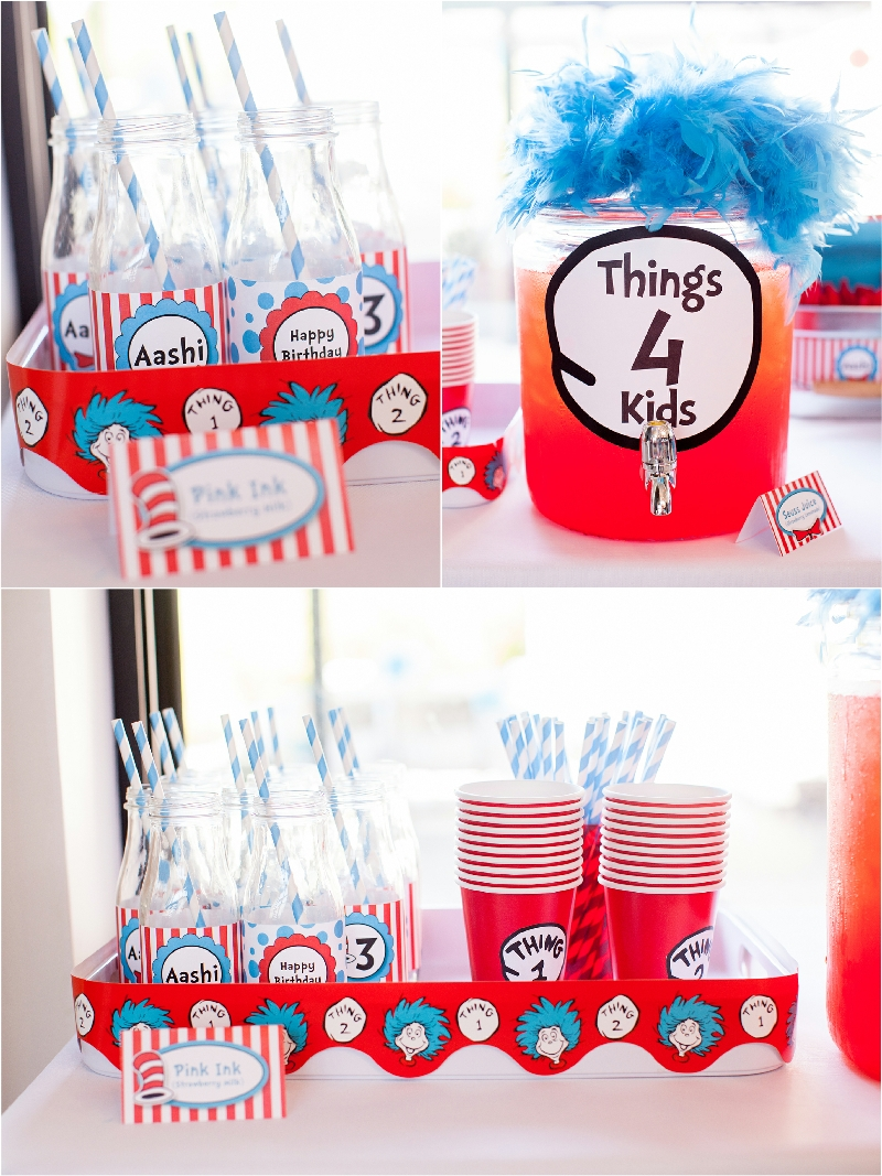 10 Nice Cat In The Hat Birthday Ideas cat in the hat inspired 3rd birthday party food game diy 2020
