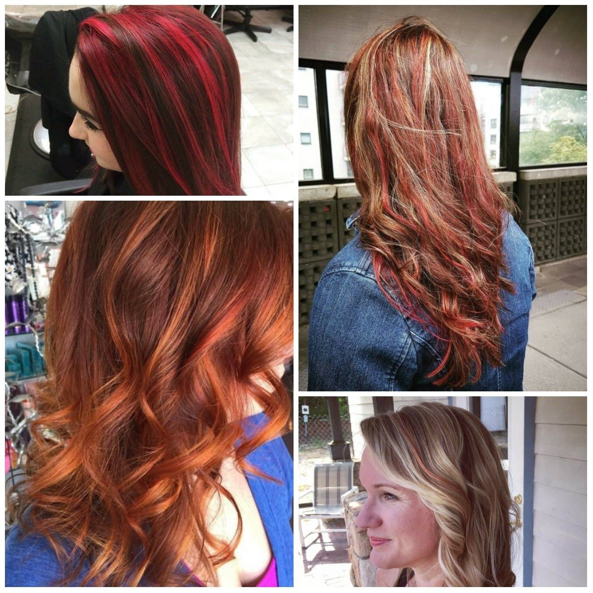 10 Attractive Red Hair Color Ideas With Highlights