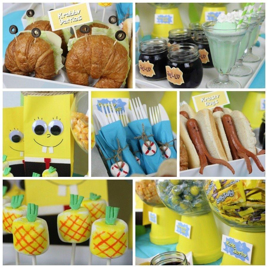 10 Trendy Spongebob Birthday Party Food Ideas celebrate spongebob throw a bikini bottom bash fandango 2020