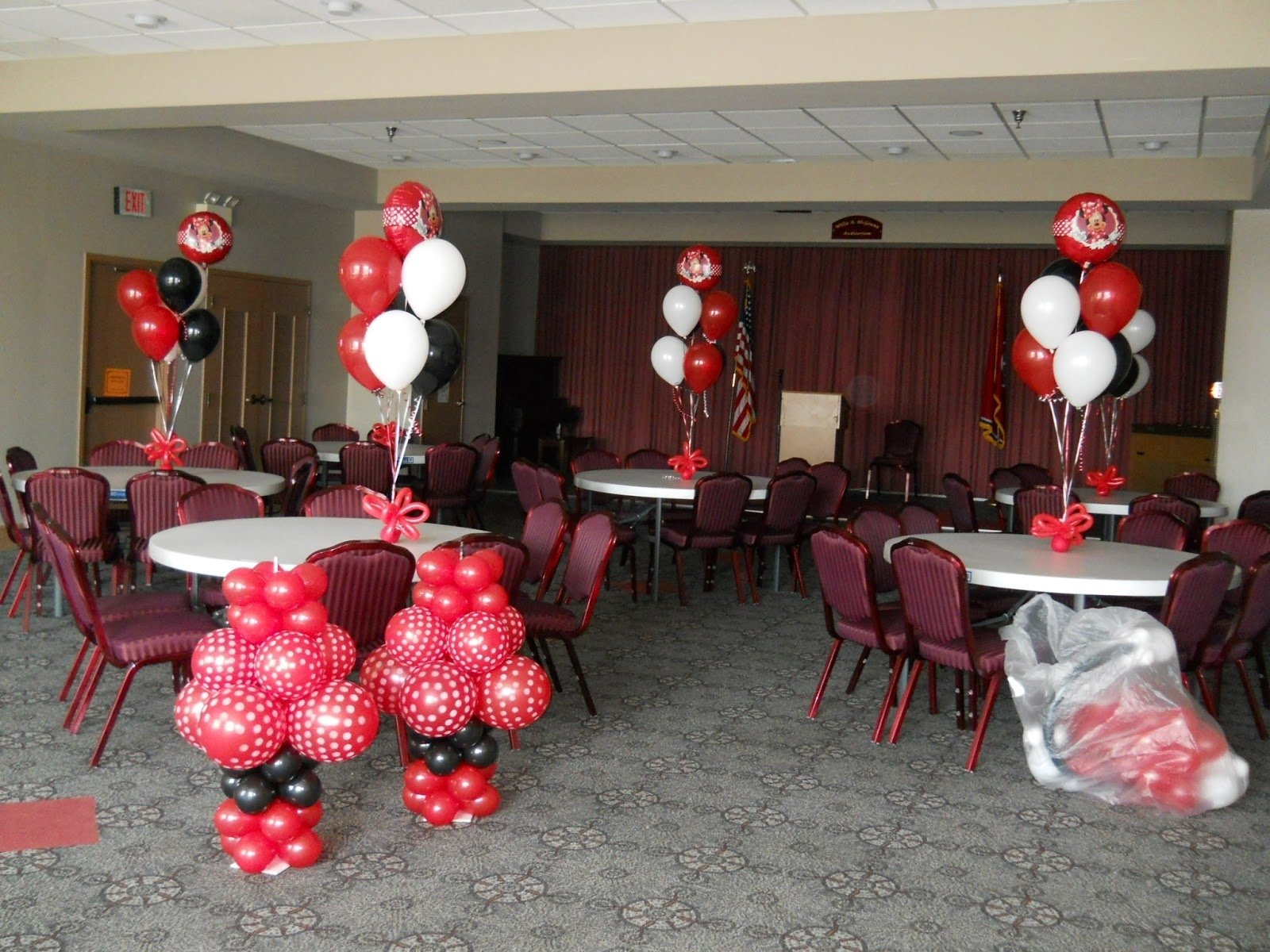 10 Stylish Red Minnie Mouse Party Ideas celebrate the day minnie mouse party decorationscelebrate the day