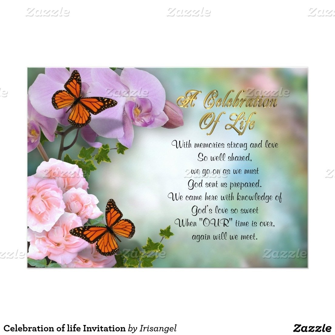 10 Great Celebration Of Life Party Ideas celebration of life invitation butterflies celebrations and butterfly 2021