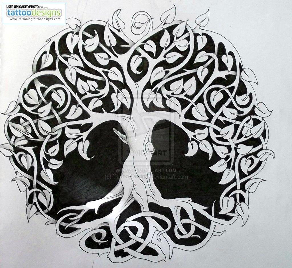 10 Great Tree Of Life Tattoo Ideas celtic tree of life tattoo designs tattoo ideas pictures tattoo