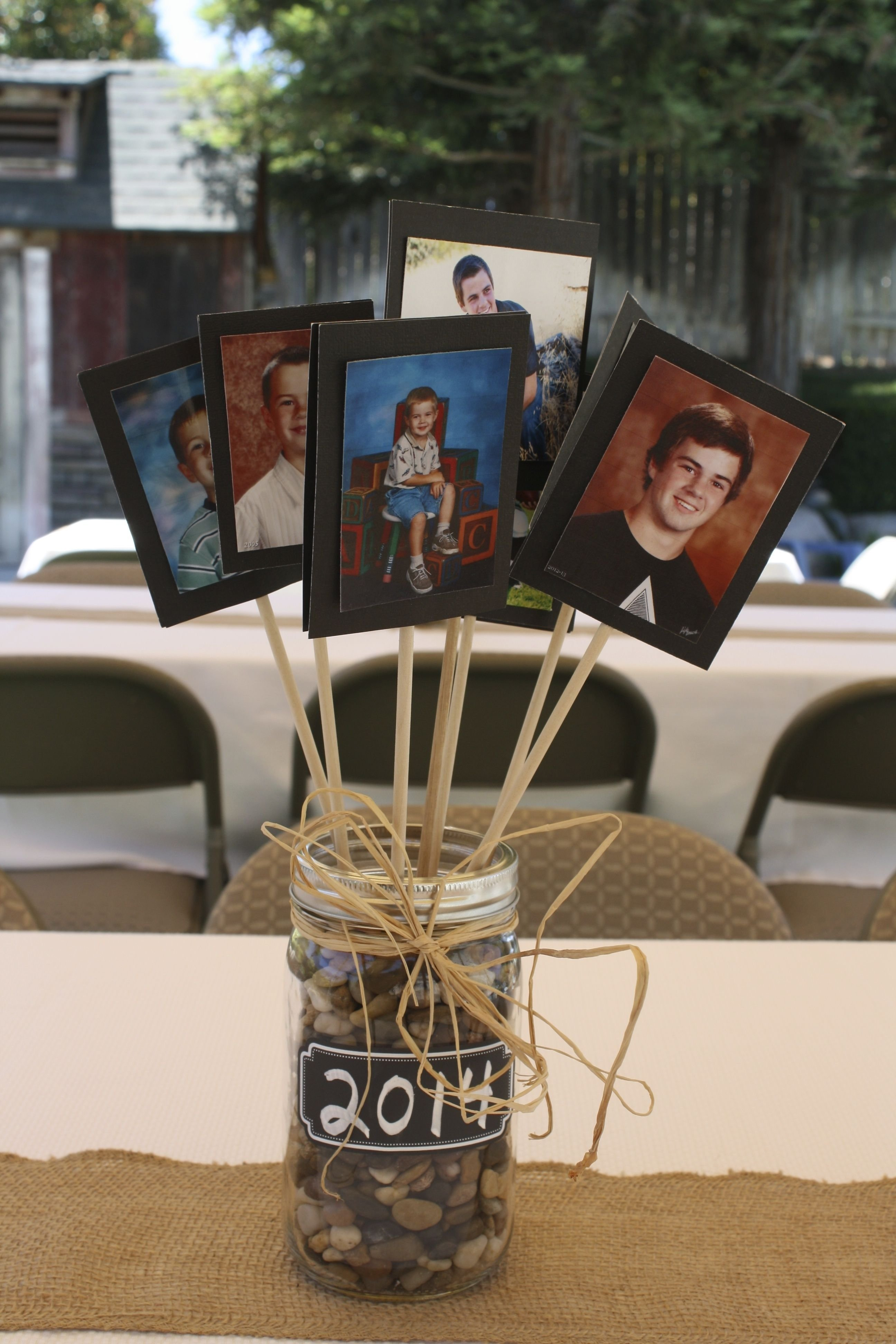10 Most Popular Graduation Party Table Centerpiece Ideas centerpiece for tables at a graduation party good for guysno 2