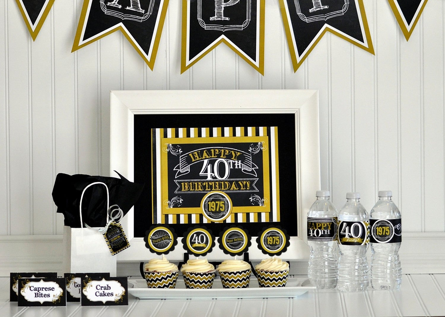10 Stunning Male 40Th Birthday Party Ideas Centerpiece For 40th Decorating Of