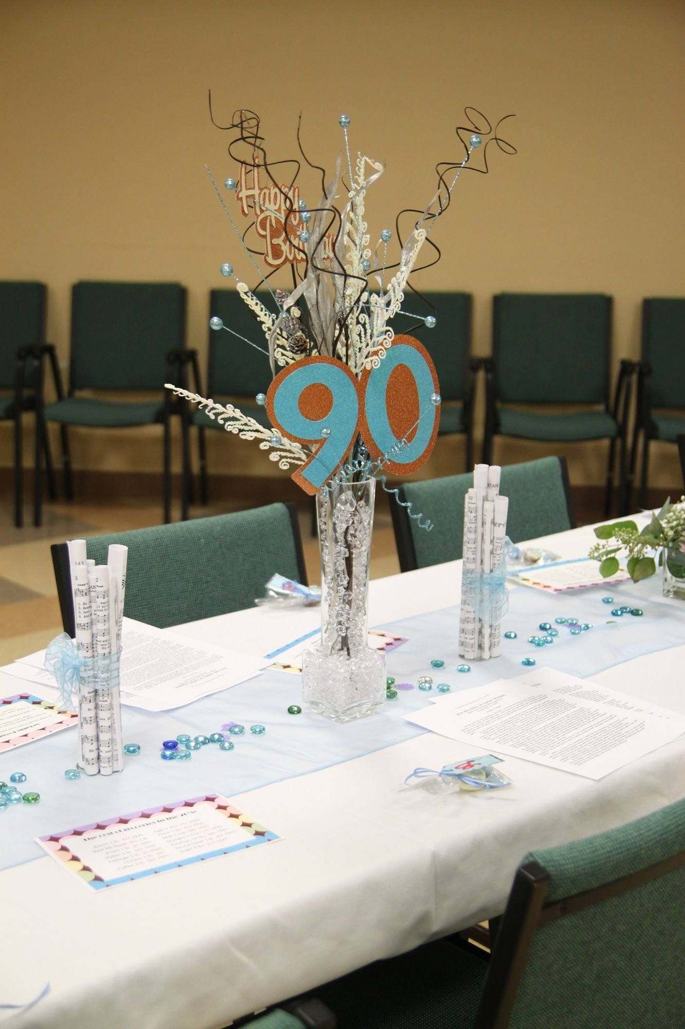 10 Fashionable 80 Year Old Birthday Party Ideas centerpieces for moms 90th birthday moms 90th birthday 1