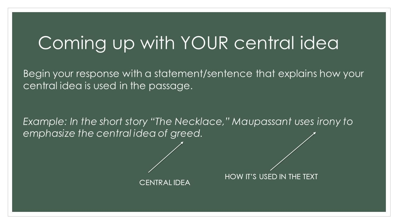 10 Cute The Central Idea Of A Writing central ideas and well developed paragraphs how to write a 2 3 2 2021