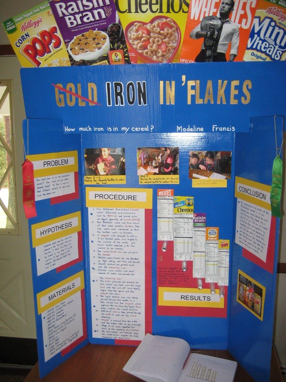 10 Pretty Science Buddies Science Fair Ideas cereal science library ideas pinterest science fair peer 1 2020