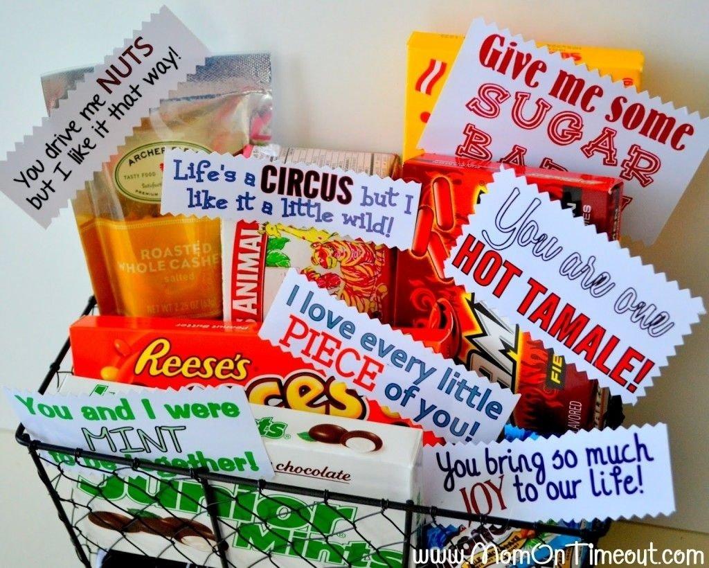 cestas-para el día de san valentín de regalo diy le | para regalar