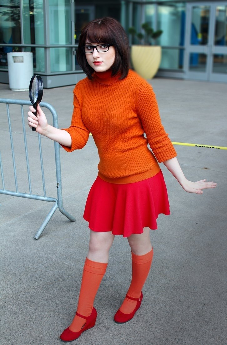 10 Gorgeous Comic Con Dress Up Ideas character velma dinkley from hanna barberas scooby doo