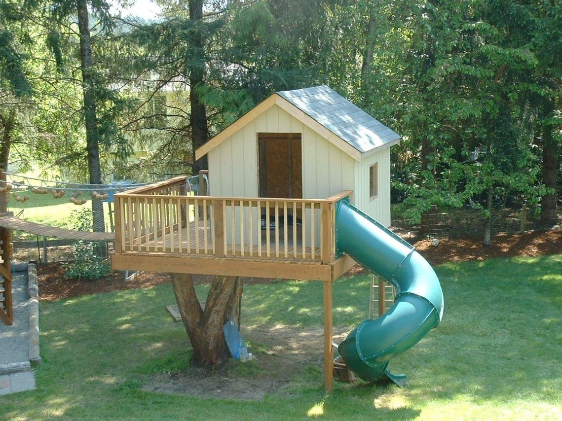 10 Wonderful Tree House Ideas For Kids charming backyard treehouse for kids 1 backyard tree house ideas 2020