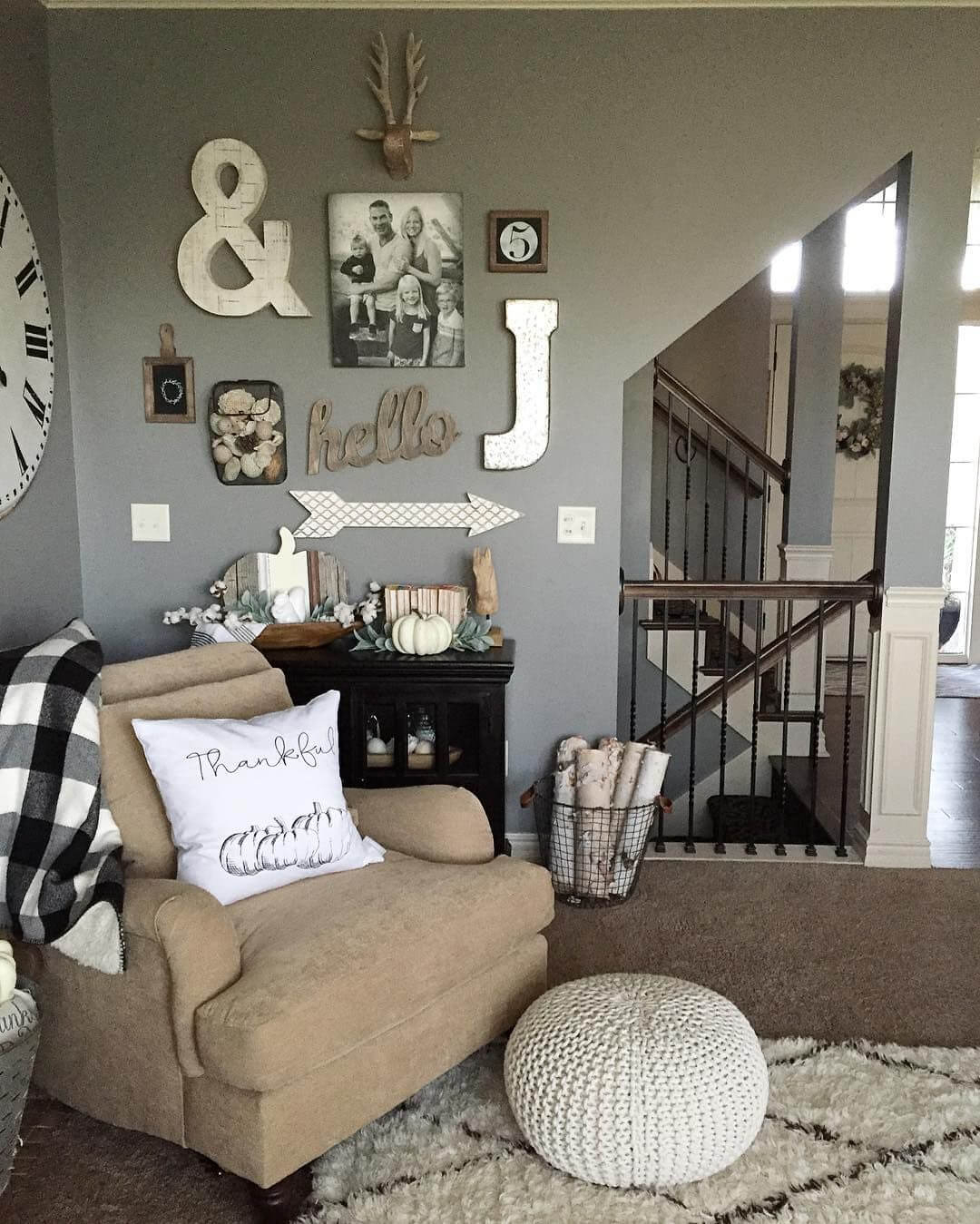 10 Famous Wall Decorating Ideas Living Room charming rustic living room wall decor ideas homebnc 2021