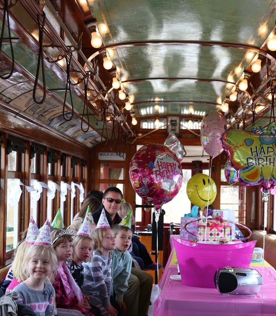 charters & parties | the shore line trolley museum operatedthe