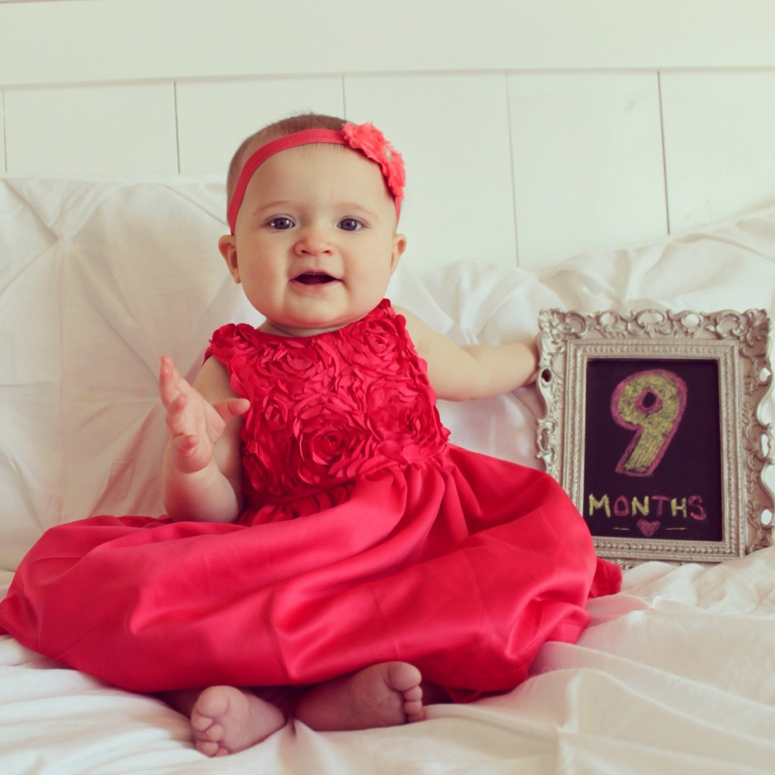 10 Perfect 9 Month Old Picture Ideas chase 9 months old such a big girl chaseeverysecond 2020