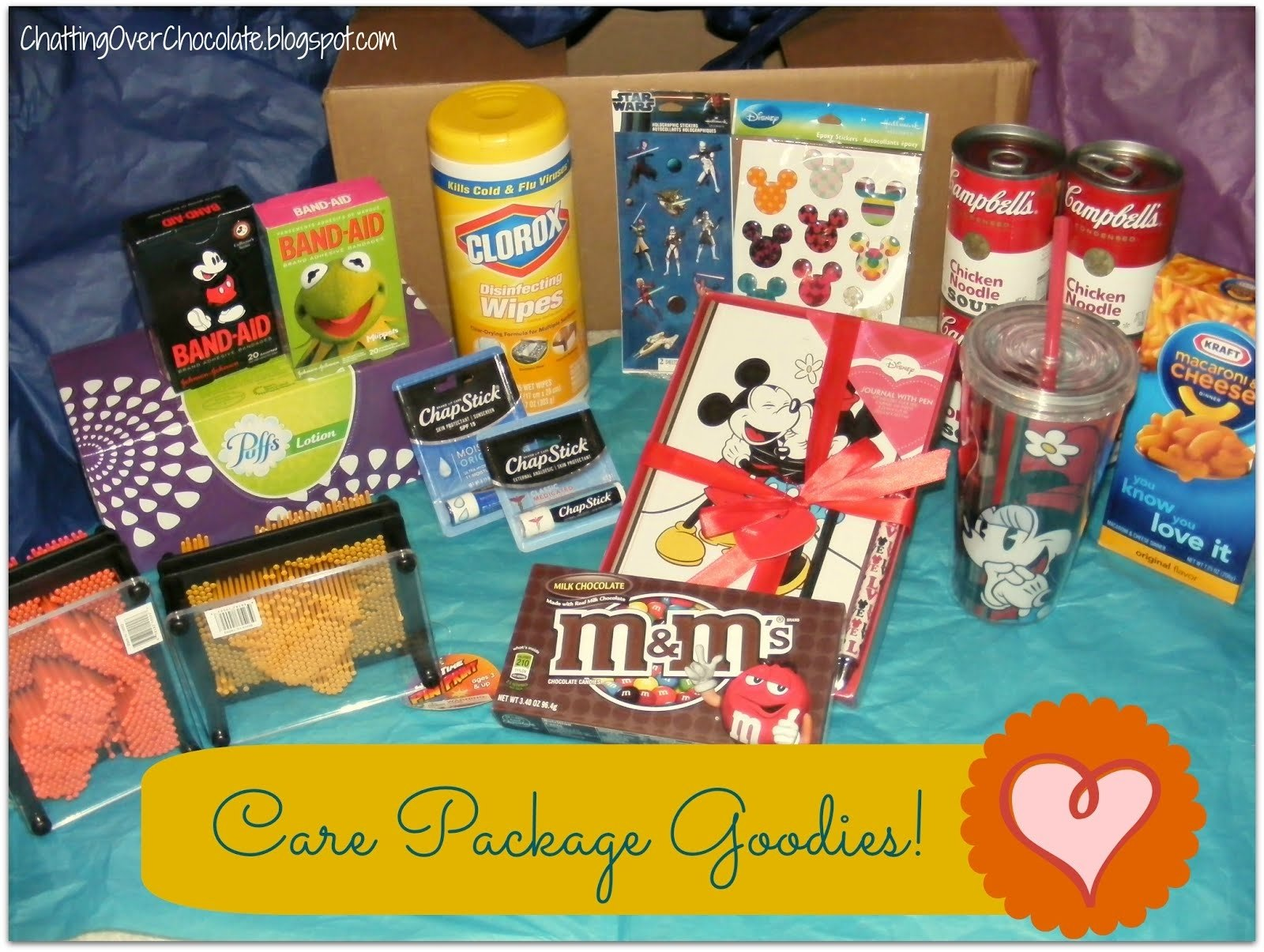 10 Attractive Get Well Soon Care Package Ideas chatting over chocolate january 2013 2020