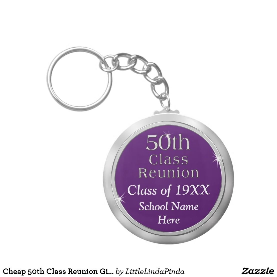 10 Unique Class Reunion Ideas 50 Years cheap 50th class reunion gift your text and color keychain class 2020