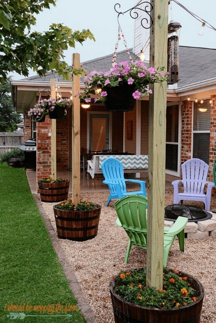 10 Cute Backyard Ideas On A Budget cheap and easy diy home decor projects backyard yards and patios 2 2020