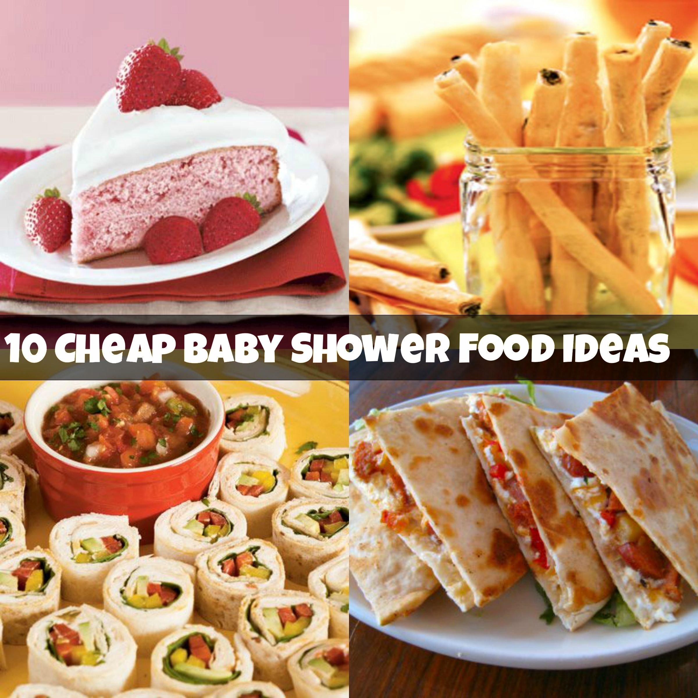10 Fantastic Baby Shower Food Ideas Easy