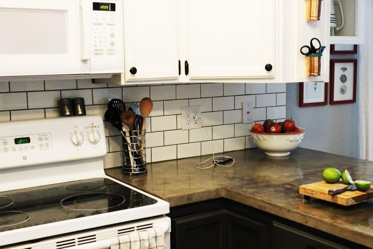 10 Fantastic Backsplash Ideas On A Budget cheap backsplash ideas for renters kitchen backsplash gallery 2021