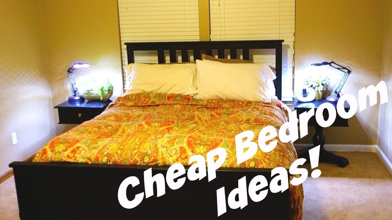 cheap bedroom decorating ideas! - daily vlog 478 - youtube