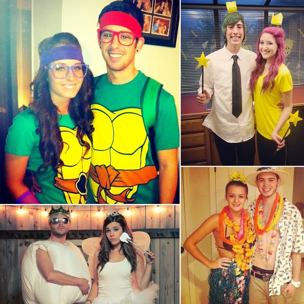 10 Attractive Cheap Couple Halloween Costume Ideas cheap diy halloween costumes for couples popsugar middle east