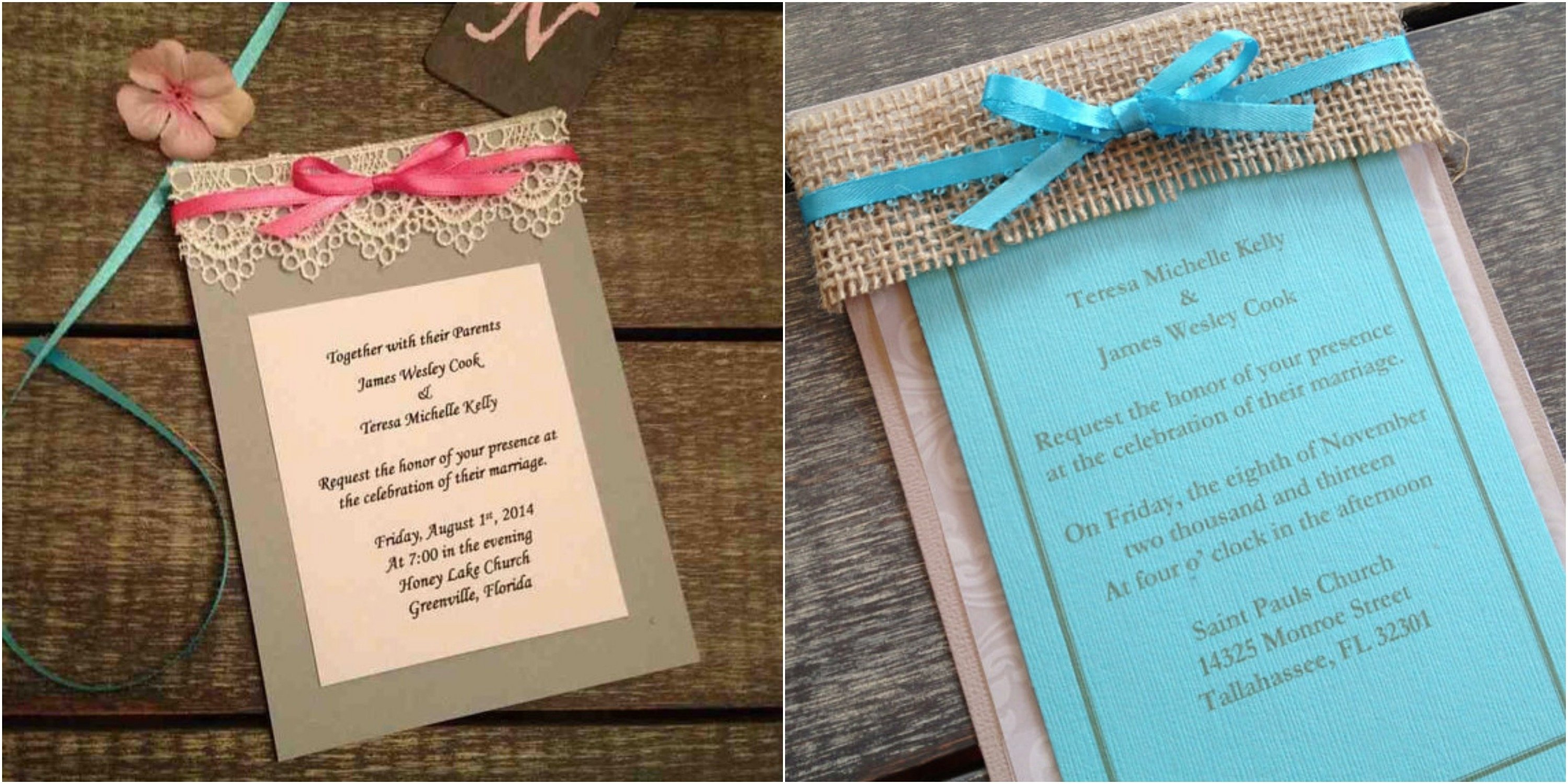 10 Cute Do It Yourself Wedding Invitations Ideas cheap do it yourself wedding invitations which you can make use as 2021