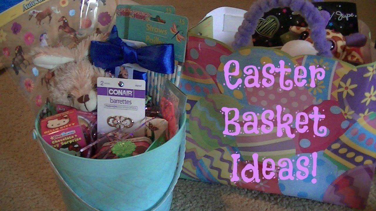 10 Wonderful Easter Basket Ideas For Girls cheap easter basket ideas 15 month old 8 year old girls youtube 2021