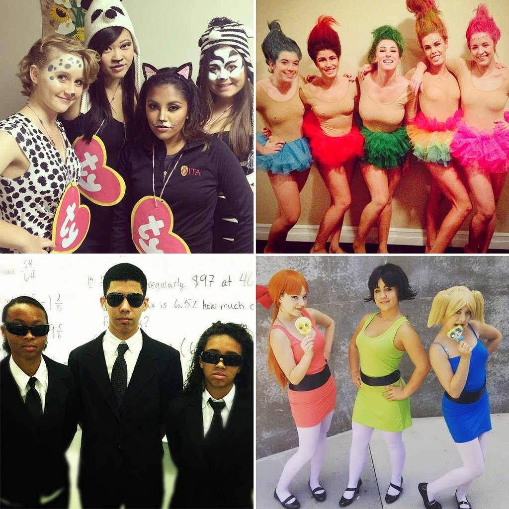 10 Gorgeous Halloween Costume Ideas For 4 People cheap halloween group costumes popsugar smart living cheap creative 6 2020