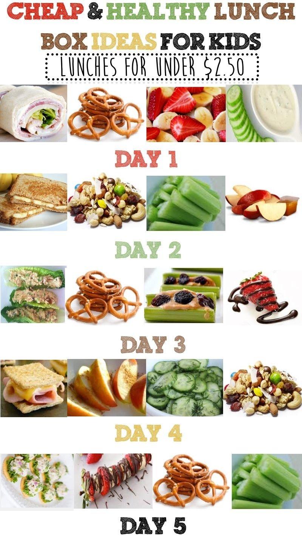 10 Fantastic Healthy Menu Ideas For The Week cheap healthy lunch box ideas for kids healthy lunch boxes 1 2020