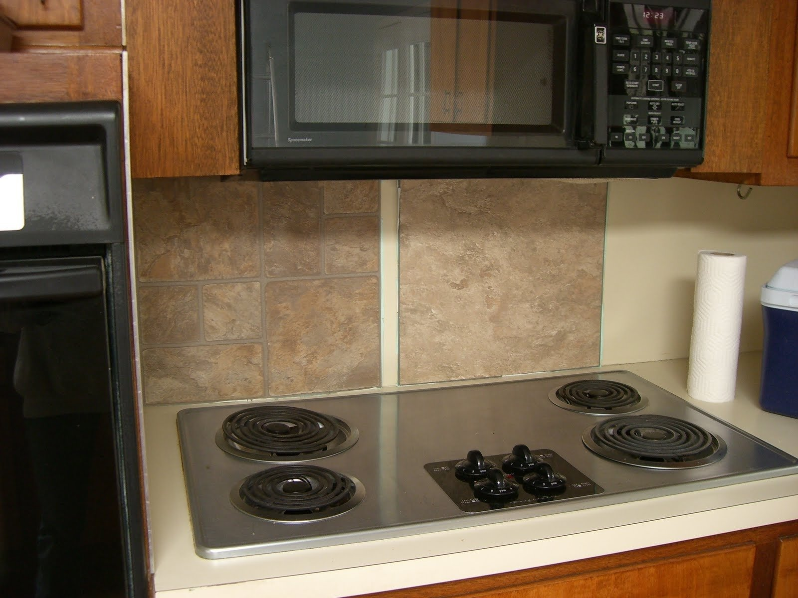 cheap kitchen backsplash - kitchen design