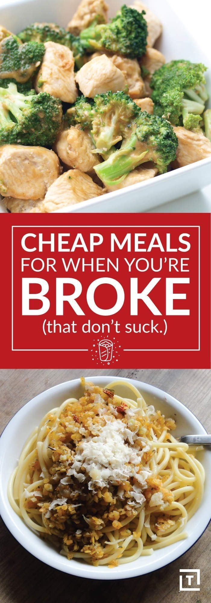 cheap meals for when you're broke (that don't suck) | cheap meals