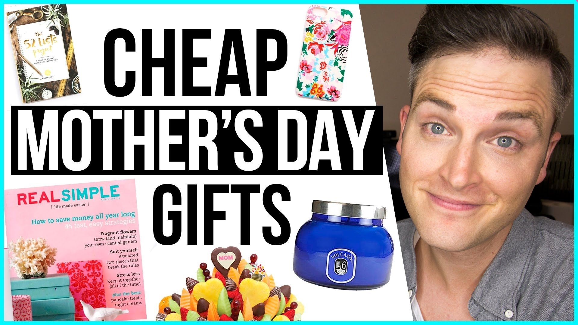 10 Fashionable Cheap Gift Ideas For Mom cheap mothers day gifts 7 budget gift ideas for mom youtube 2020