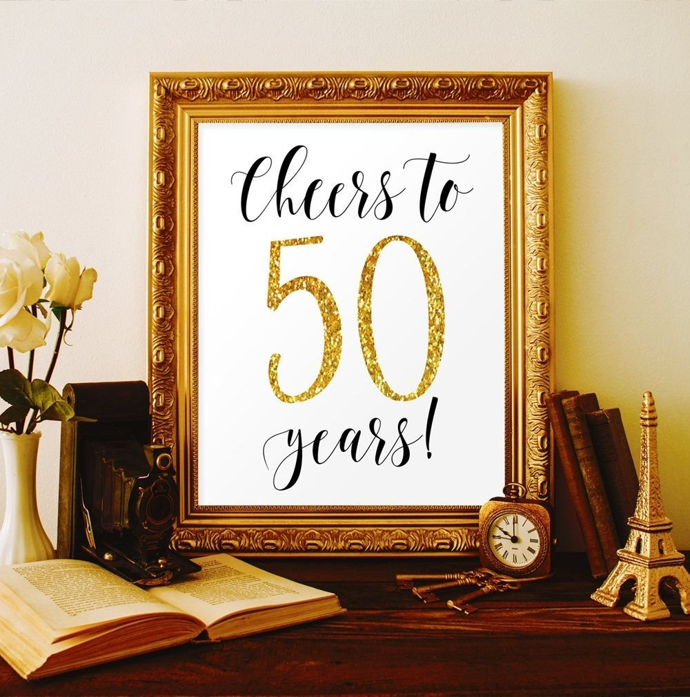 10 Most Popular 50Th Birthday Party Ideas For Men cheers to 50 years 50th birthday party decorations for men 50th