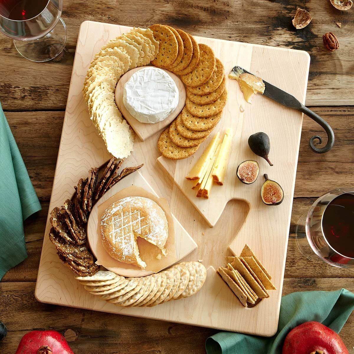 10 Fantastic Cheese And Cracker Tray Ideas cheese crackers serving board cheese and crackers maple wood