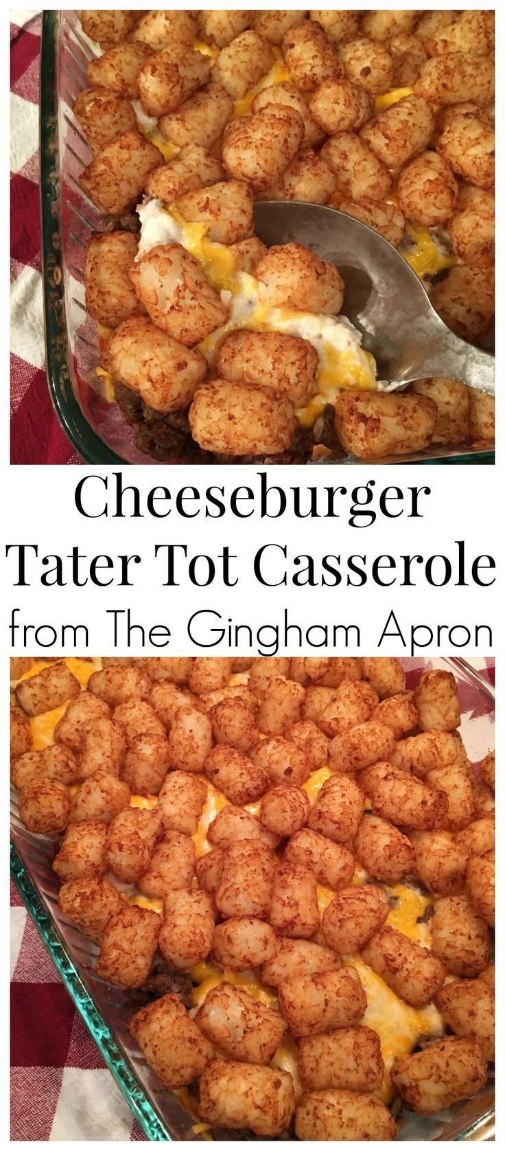 10 Fantastic Cheap And Simple Dinner Ideas cheeseburger tater tot casserole recipe tater tot casserole 2021