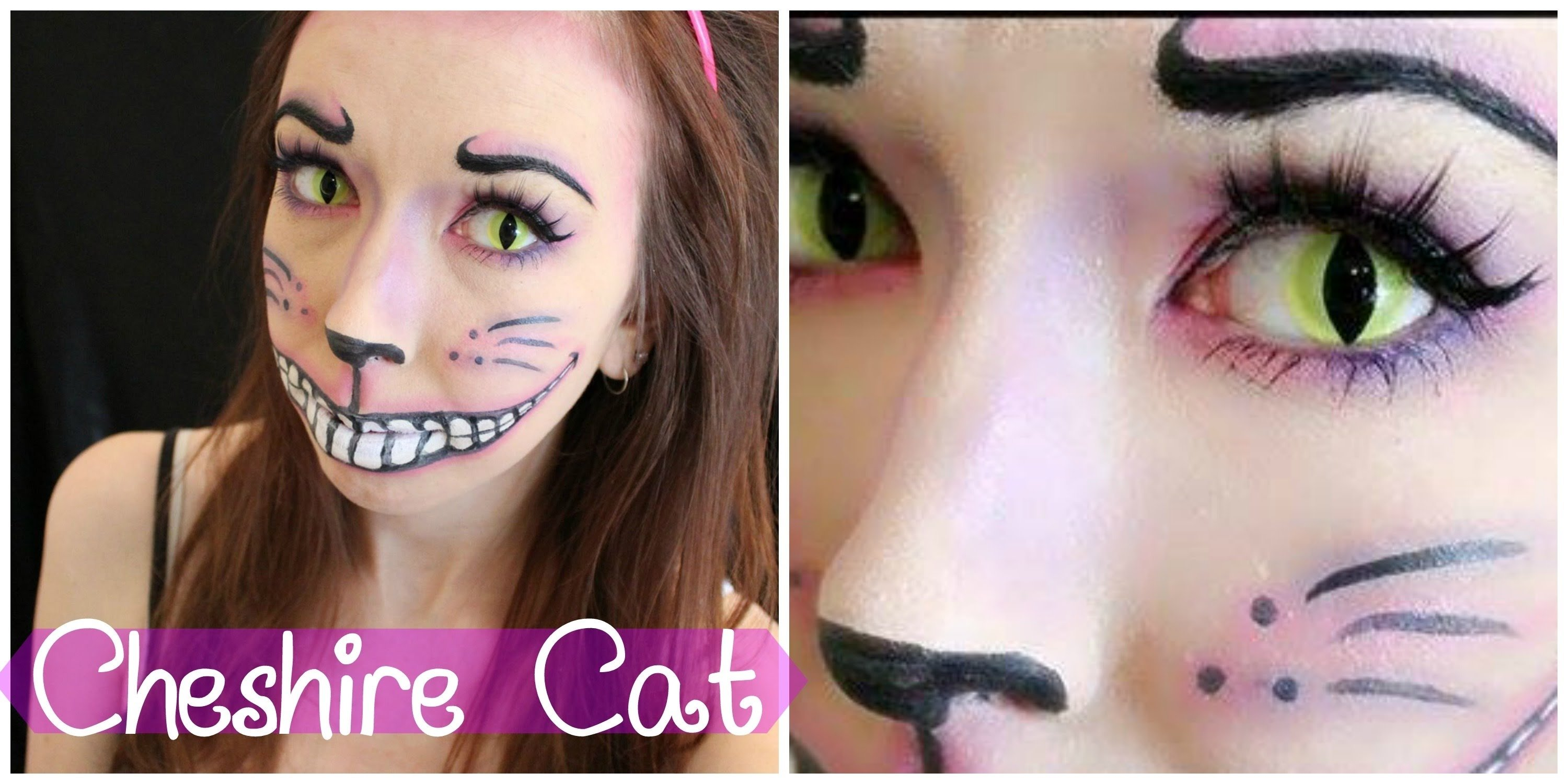 10 Great Alice In Wonderland Makeup Ideas cheshire cat alice in wonderland e299a1 makeup tutorial youtube 2020