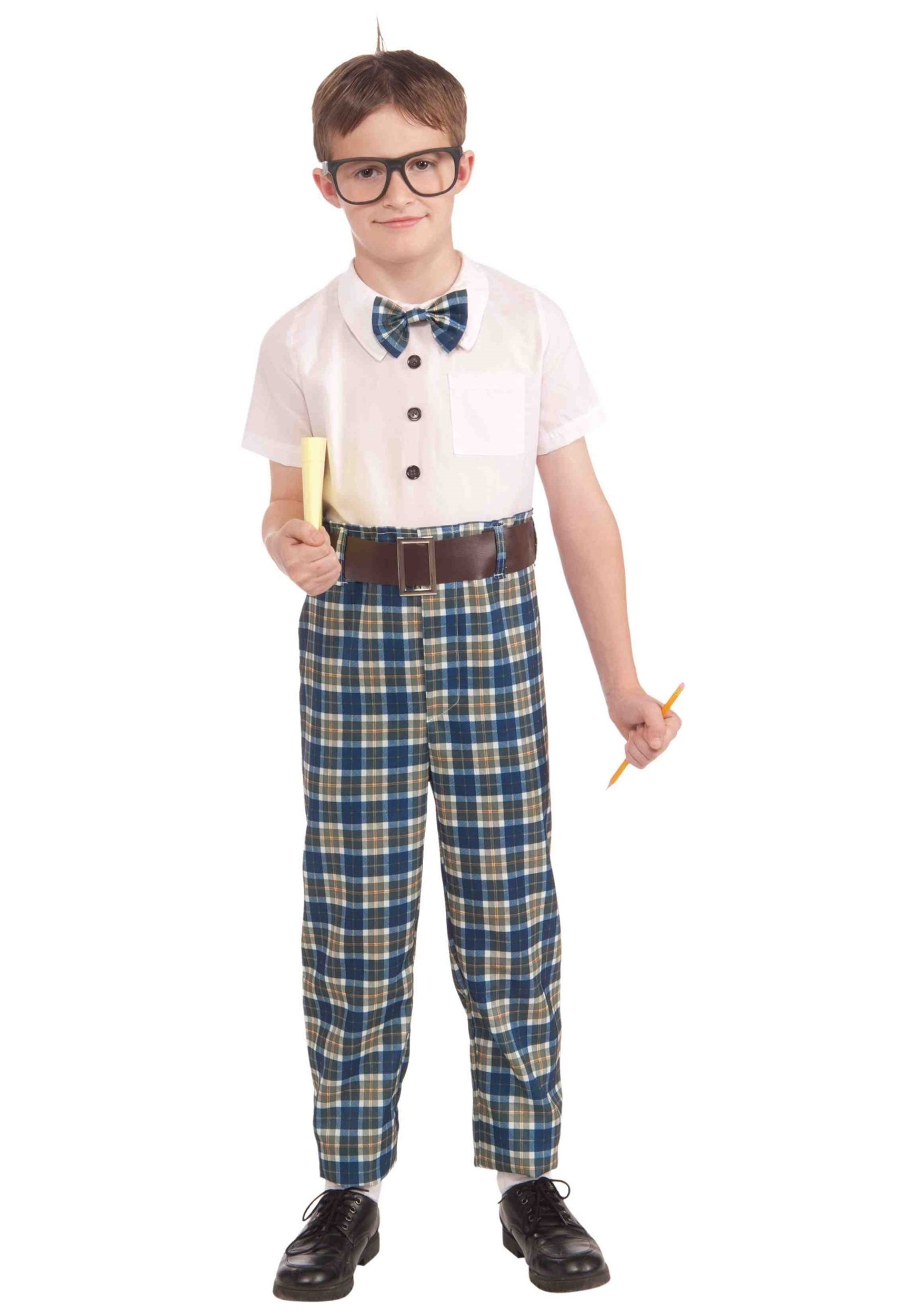 child class nerd costume
