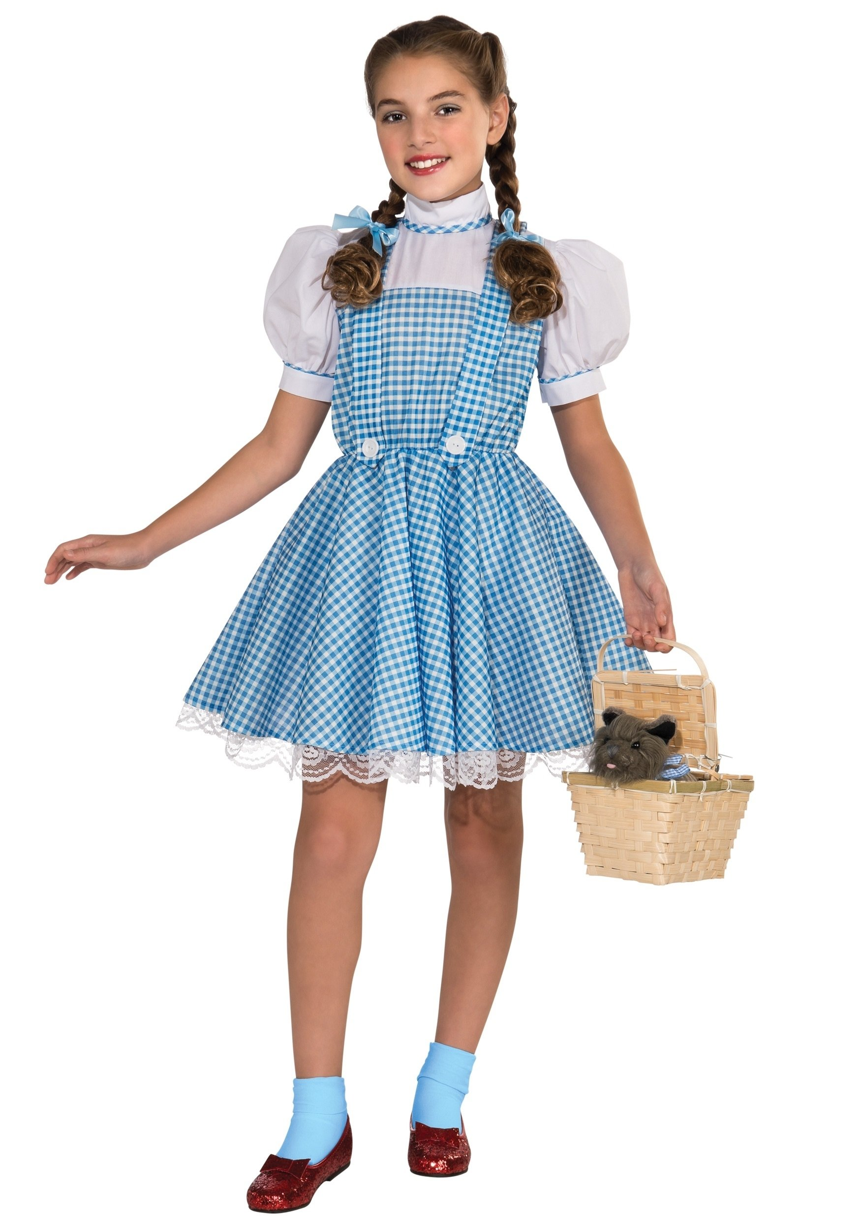 10 Unique Good Costume Ideas For Girls child deluxe dorothy costume 2020